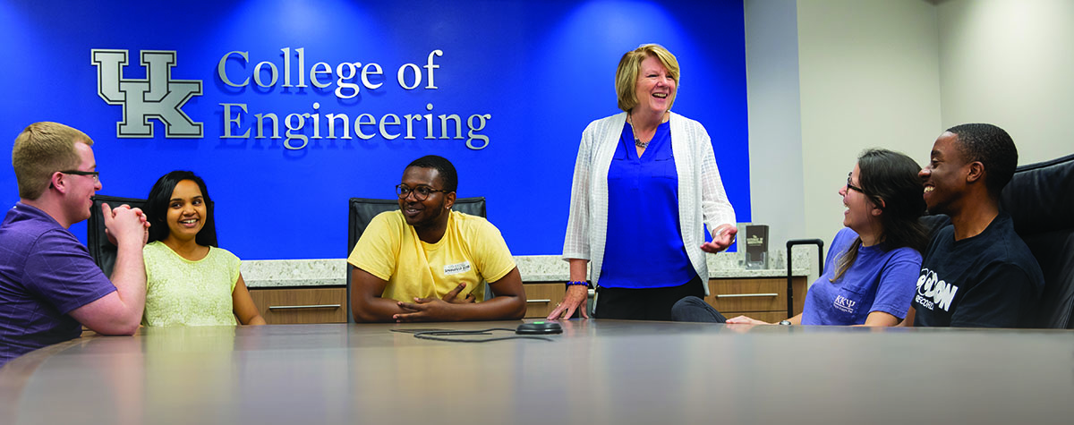 """I can say, 'I sent my son to UK and I couldn't be happier with his education and career prospects.' It's a great recruiting message coming from the associate dean."""