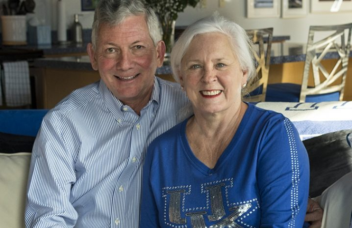 Stan and Karen Pigman make a difference in the lives of Kentucky engineering majors at UK.