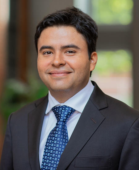 Electrical and computer engineering assistant professor Luis Sanchez Giraldo